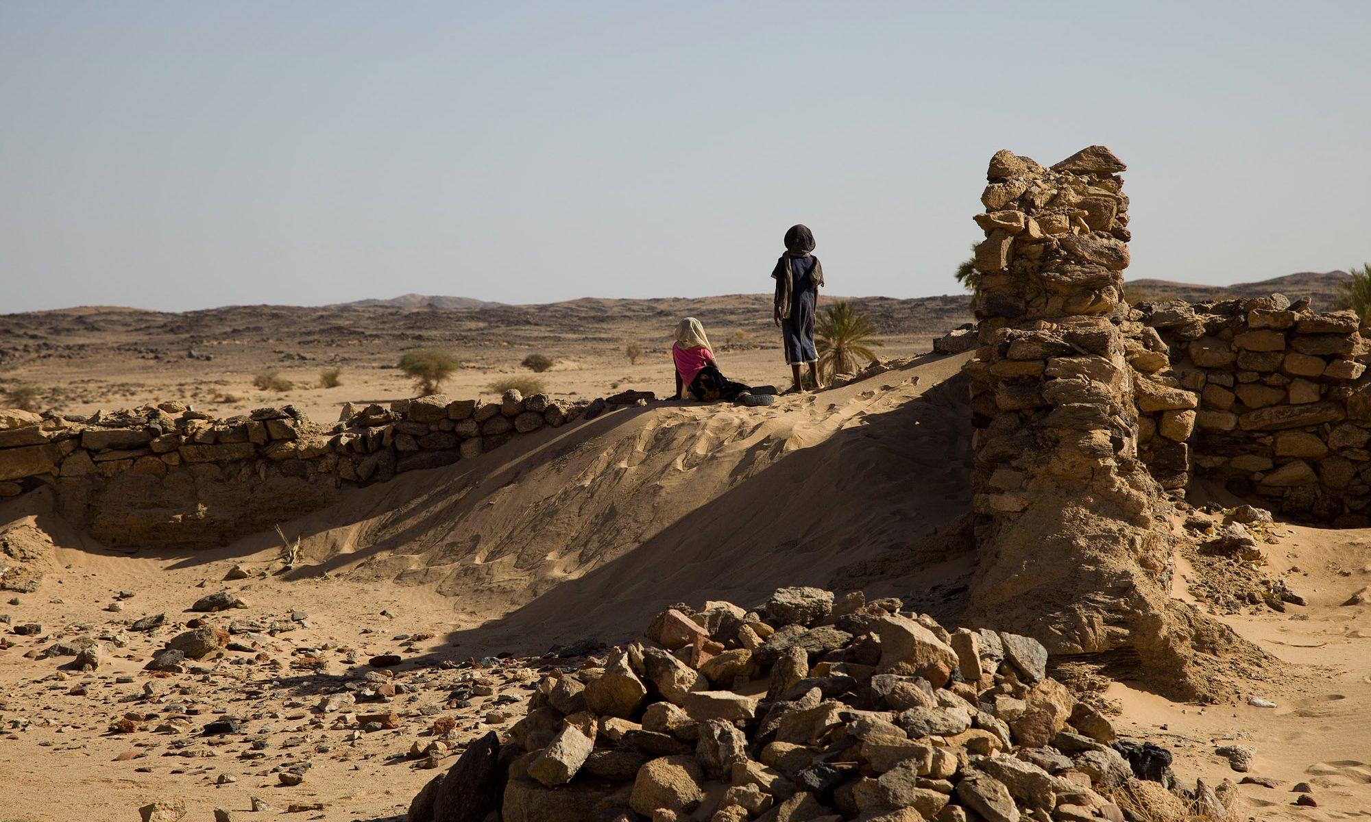 Children on excavations